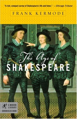 Age of Shakespeare  N/A edition cover