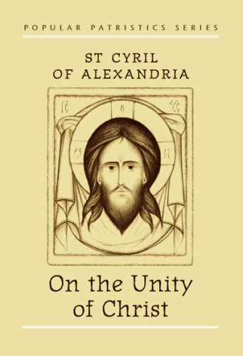 On the Unity of Christ   2000 edition cover