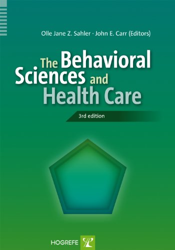 Behavioral Sciences and Health Care  3rd 2012 edition cover