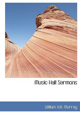 Music Hall Sermons N/A 9781115070331 Front Cover