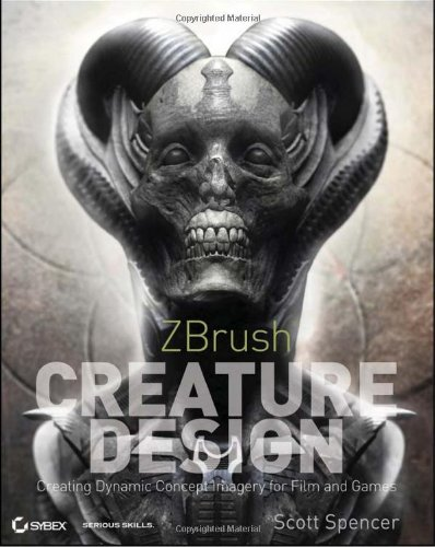 ZBrush Creature Design Creating Dynamic Concept Imagery for Film and Games  2012 9781118024331 Front Cover