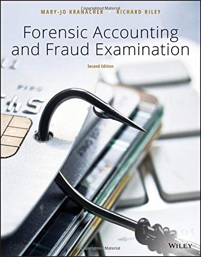 Forensic Accounting and Fraud Examination  2nd 2020 9781119494331 Front Cover