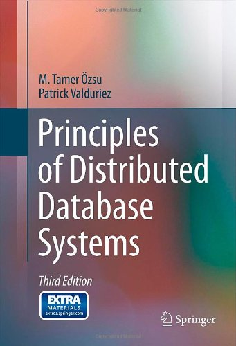 Principles of Distributed Database Systems  3rd 2011 edition cover