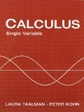 CALCULUS,SINGLE VARIABLE                N/A edition cover
