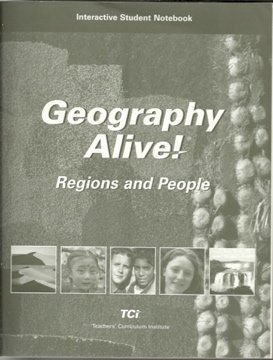 Geography Alive! Regions and People, Interactive Student Notebook  N/A edition cover