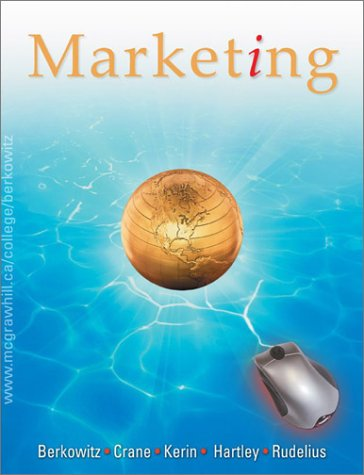 MARKETING >CANADIAN ED.< 5th 2003 edition cover