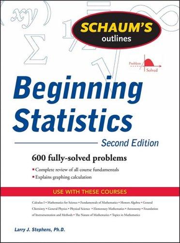 Beginning Statistics  2nd 2010 edition cover