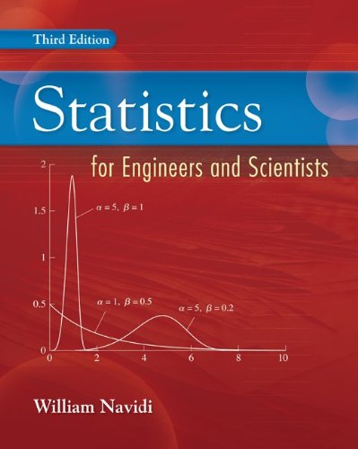 Statistics for Engineers and Scientists  3rd 2011 edition cover