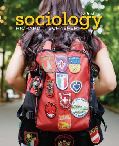 Sociology  12th 2010 edition cover