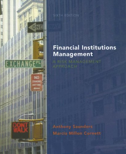Financial Institutions Management A Risk Management Approach 6th 2008 edition cover