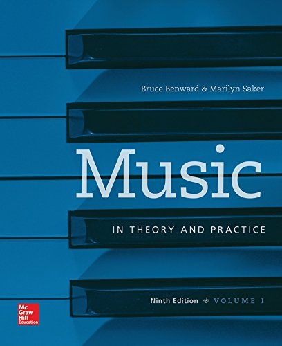 Music in Theory and Practice:   2014 edition cover