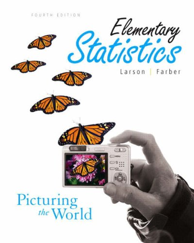 Elementary Statistics Picturing the World 4th 2009 edition cover