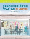 Management of Human Resources - The Essentials  4th 2015 edition cover