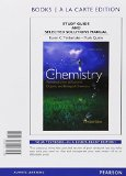 Study Guide and Selected Solutions Manual for Chemistry An Introduction to General, Organic, and Biological Chemistry, Books a la Carte Edition 12th 2015 edition cover