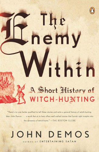 Enemy Within A Short History of Witch-Hunting  2010 edition cover