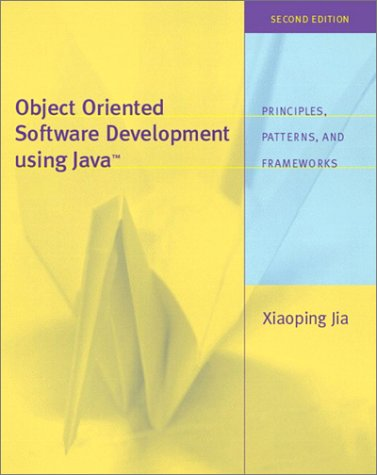 Object Oriented Software Development Using Java  2nd 2003 (Revised) edition cover