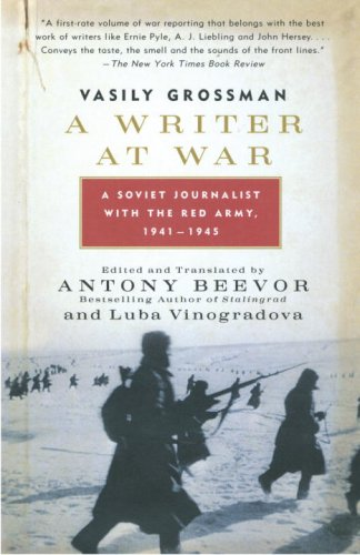 Writer at War A Soviet Journalist with the Red Army, 1941-1945 N/A edition cover