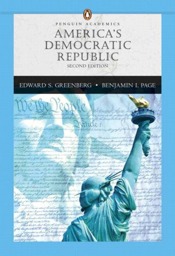 America's Democratic Republic  2nd 2007 edition cover