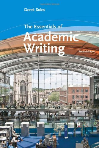 Essentials of Academic Writing  2nd 2010 9780547181332 Front Cover