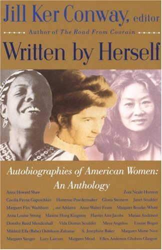 Written by Herself Autobiographies of American Women - An Anthology N/A edition cover