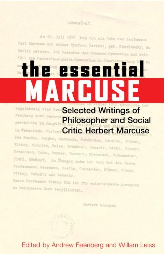 Essential Marcuse Selected Writings of Philosopher and Social Critic Herbert Marcuse  2007 edition cover