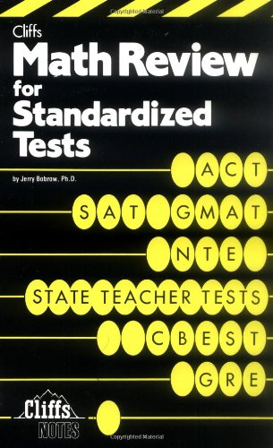 Math Review for Standardized Tests   1985 9780822020332 Front Cover