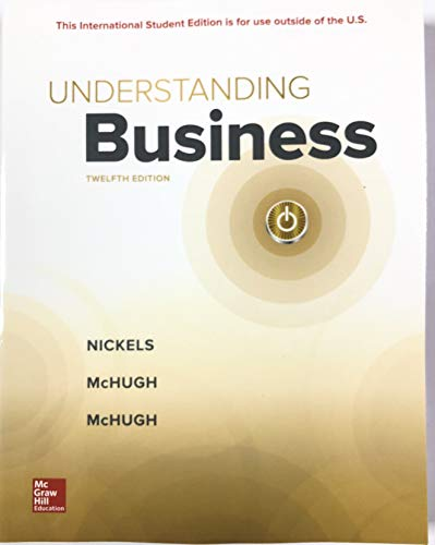 Understanding Business  12th 9781260092332 Front Cover