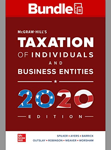 GEN COMBO LL MCGRAW-HILLS TAXATION of INDIVIDUALS & BUSINESS ENT; CONNECT Access Card  11th 2020 9781260696332 Front Cover