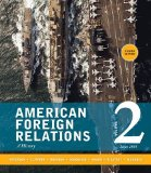 American Foreign Relations Volume 2: Since 1895 8th 2015 edition cover