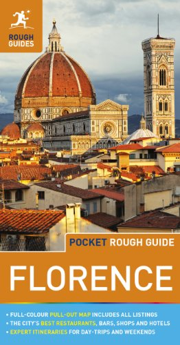 Pocket Rough Guide - Florence   2014 edition cover