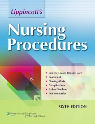 Lippincott's Nursing Procedures  6th 2012 (Revised) edition cover