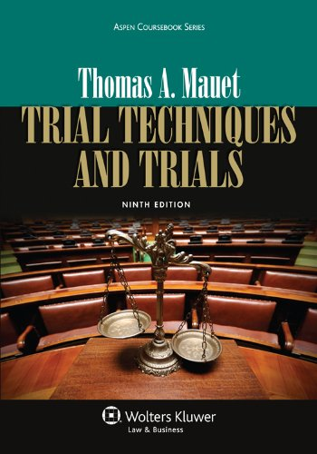 Trial Techniques and Trials:   2013 9781454822332 Front Cover