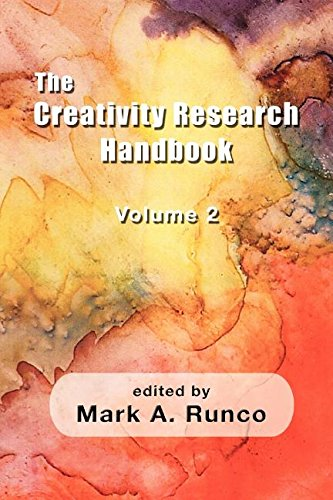Creativity Research Handbook   2011 9781572731332 Front Cover