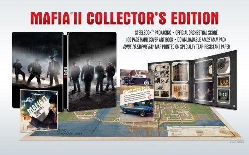 Mafia 2 - Collector's Edition (uncut) Xbox 360 artwork