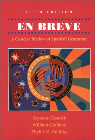 En Breve A Concise Review of Spanish Grammar 5th 2002 (Revised) edition cover