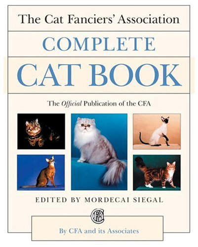 Cat Fanciers' Association Complete Cat Book  N/A edition cover