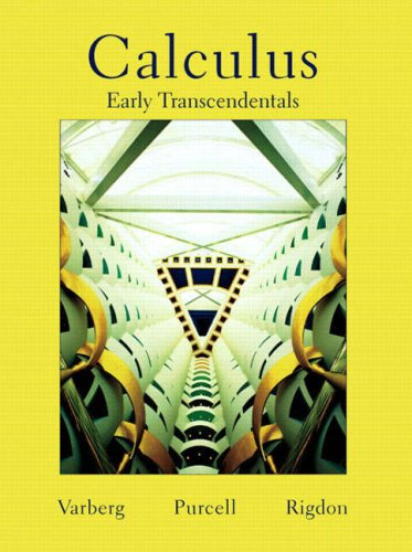 Calculus Early Transcendentals   2007 edition cover