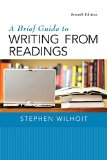 A Brief Guide to Writing from Readings:   2015 edition cover