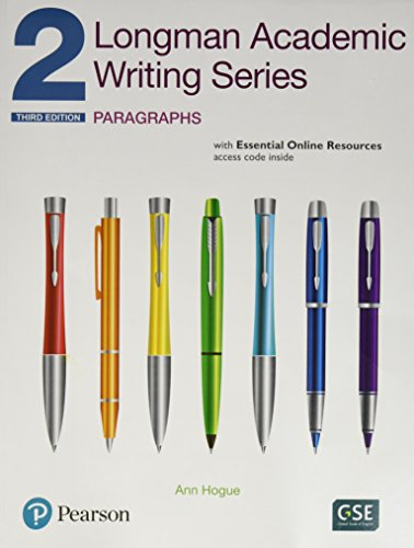 Longman Academic Writing Series 2: Paragraphs with Essential Online Resources  3rd 2013 9780134663333 Front Cover