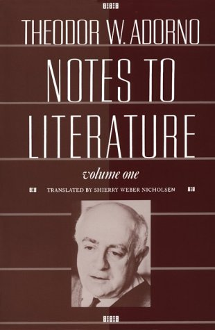 Notes to Literature  N/A edition cover
