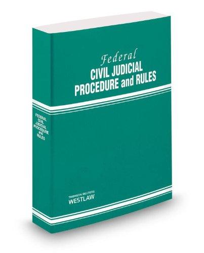 FEDERAL CIVIL JUDICIAL PROCEDU N/A edition cover