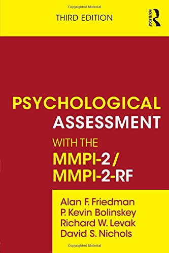 Psychological Assessment with the MMPI-2  3rd 2015 (Revised) edition cover