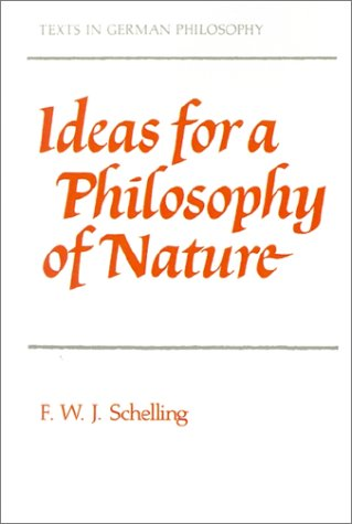 Ideas for a Philosophy of Nature   2001 edition cover