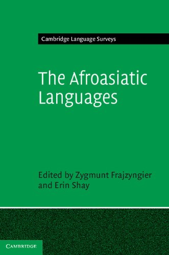 Afroasiatic Languages   2012 9780521865333 Front Cover