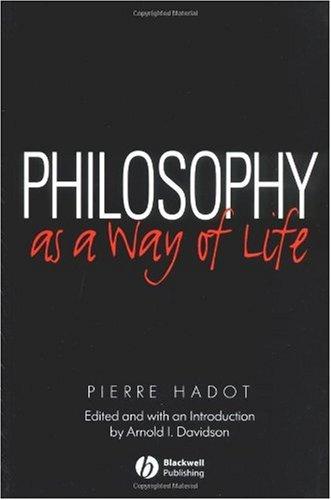 Excercises Spirituels et Philosophie Antique   1995 edition cover