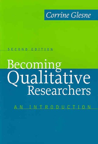 Becoming Qualitative Researchers An Introduction 2nd 1999 edition cover