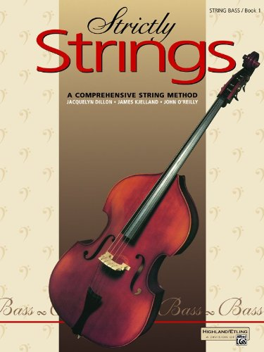 Strictly Strings - Bass   1992 9780882845333 Front Cover
