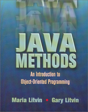 Java Methods : An Introduction to Object-Oriented Programming  2001 9780965485333 Front Cover