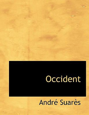 Occident N/A edition cover