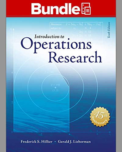 Introduction to Operations Research + Connectplus:   2014 9781259600333 Front Cover